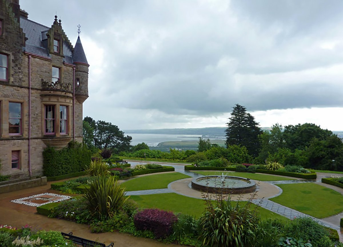 Cat Garden at Belfast Castle in Northern Ireland