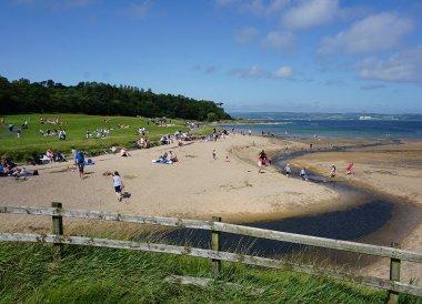 Day Out at Crawfordsburn Beach Summer in Bangor Northern Ireland