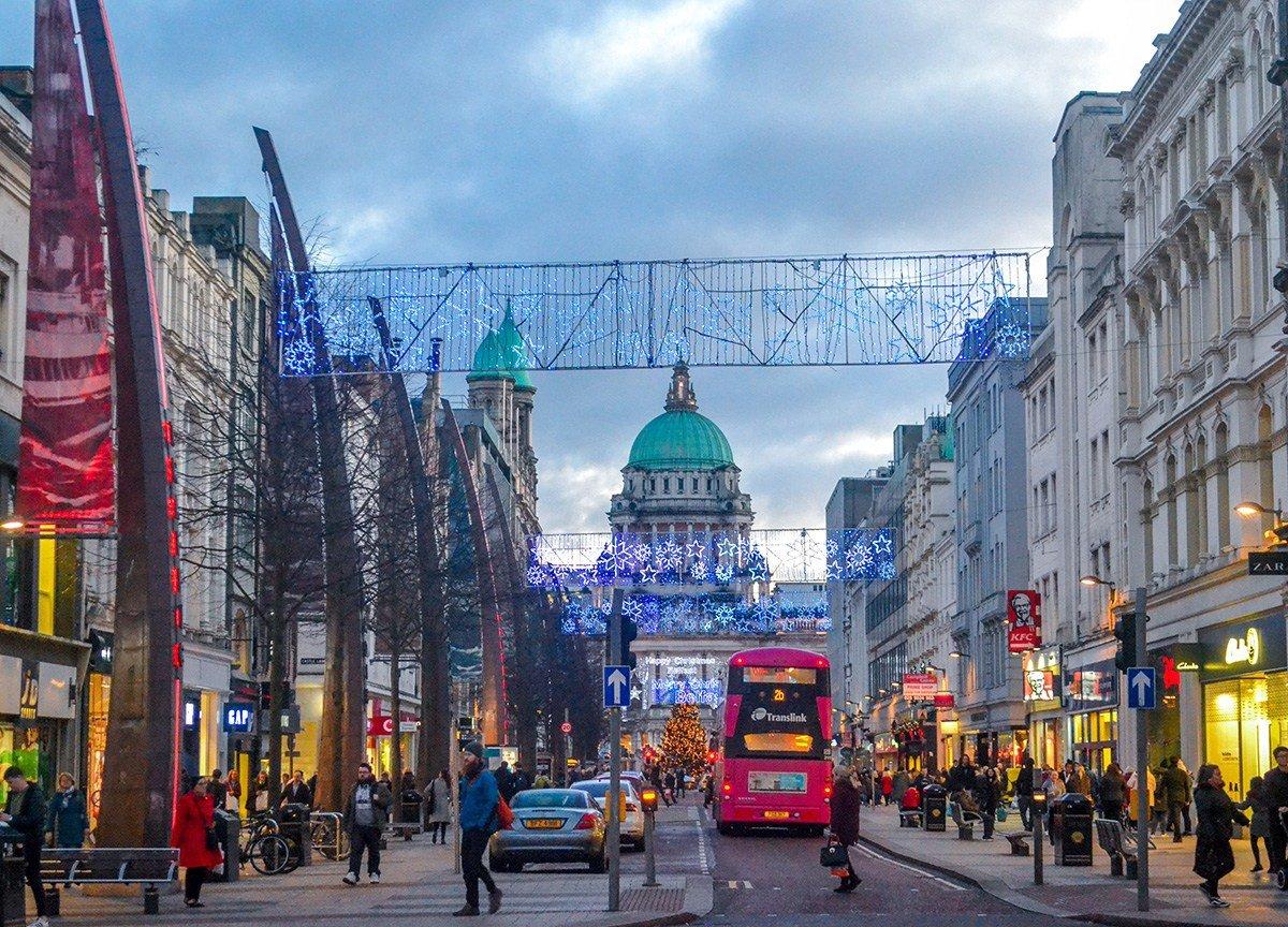 Main Street Belfast donegal Place Belfast Tourist Attractions