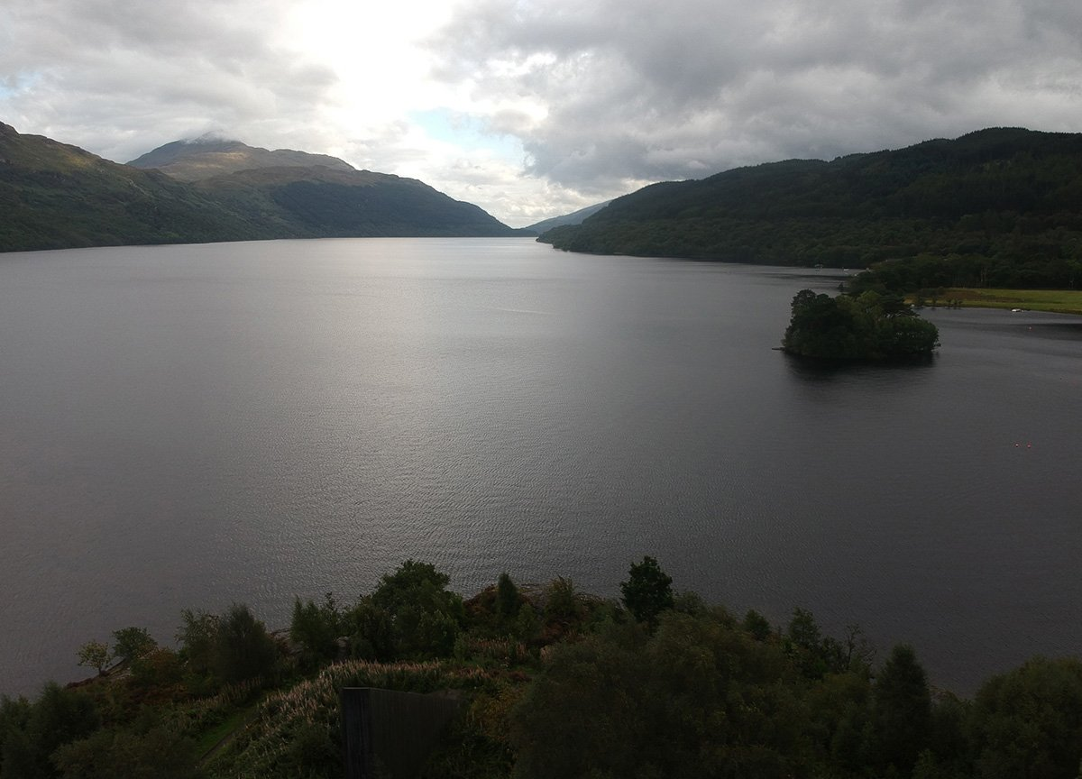 Loch-Lomond-Views-by-Drone-Things to do in scotland