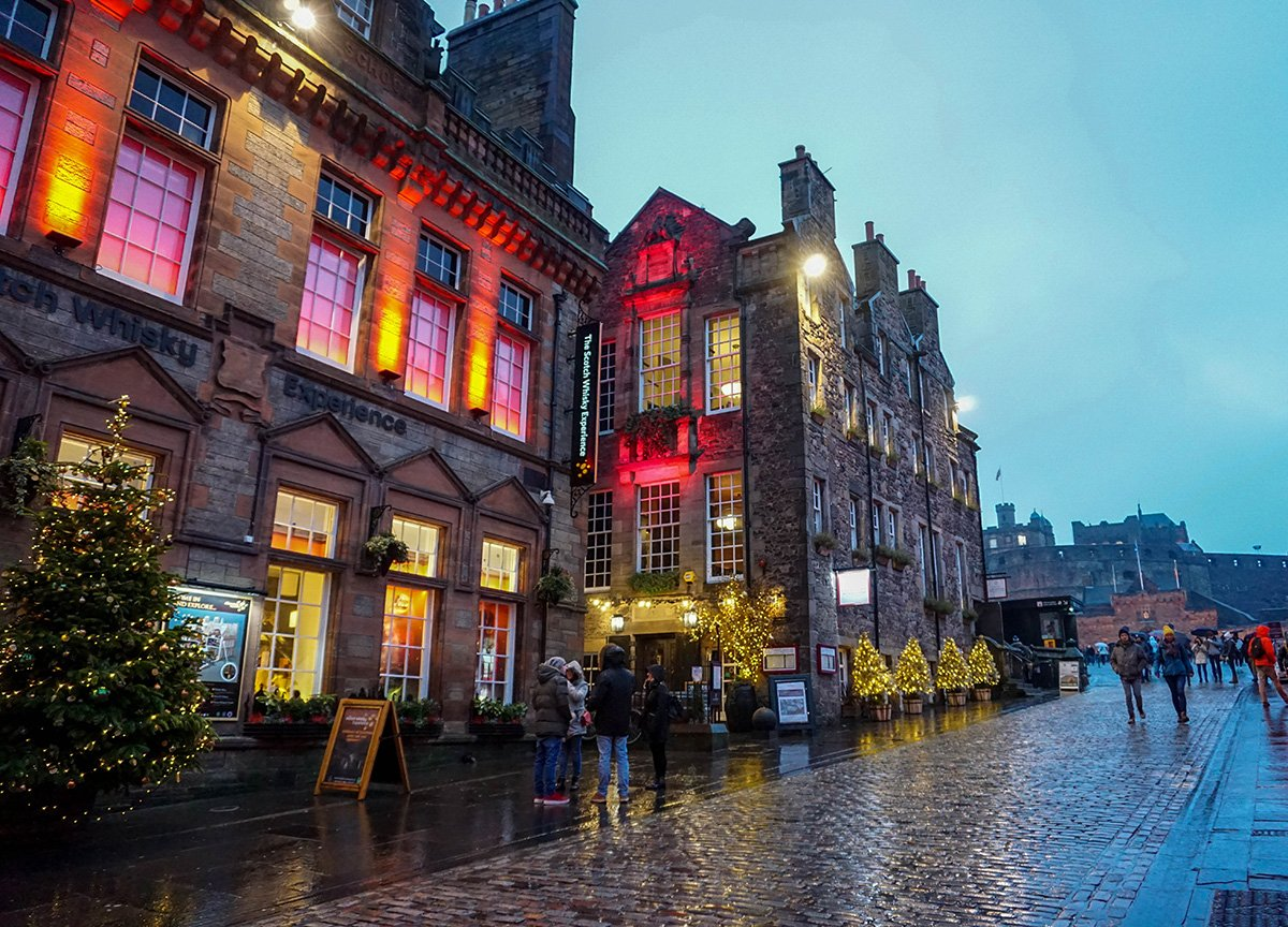 Royal Mile to Edinburgh Castle Edinburgh Places to Visit in Scotland