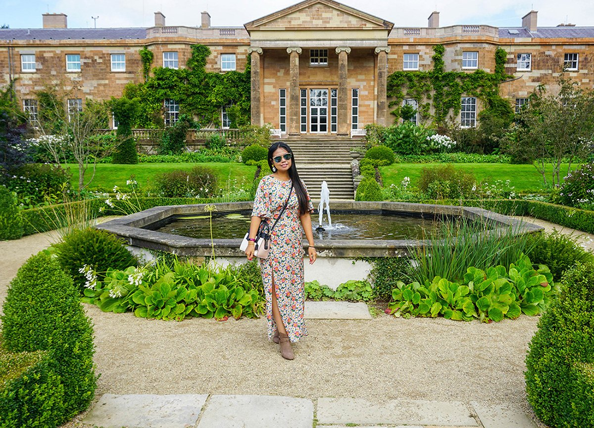Fanfan in Gardens of Hillsborough Castle Lisburn Northern Ireland