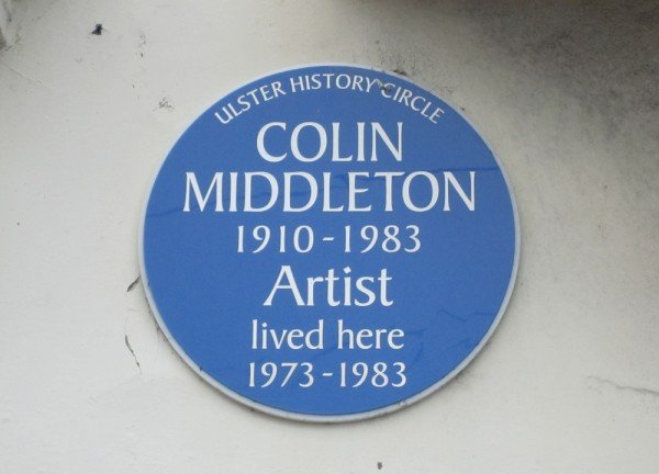 Artist Colin Middleton's House, Bangor, Northern Ireland