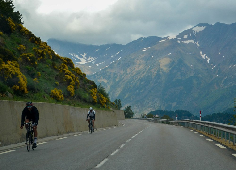 Andorra Cyclists Road Trip in Southern France and Borders June
