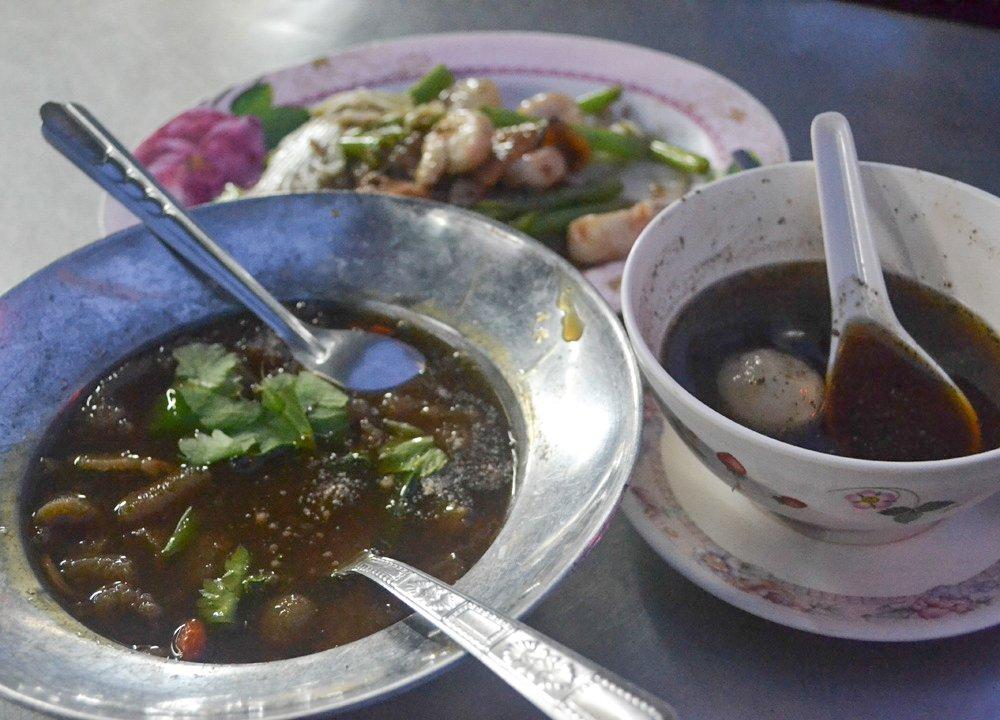 Vegetarian Festival in Thailand Kin Jay in Bangkok Chinatown