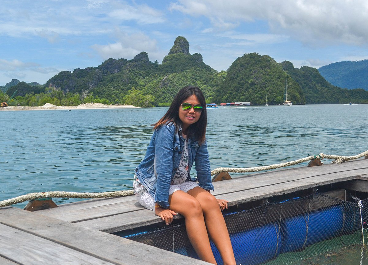 Fanfan Wilson. Travel Blogger in Langkawi Geoforest in Malaysia