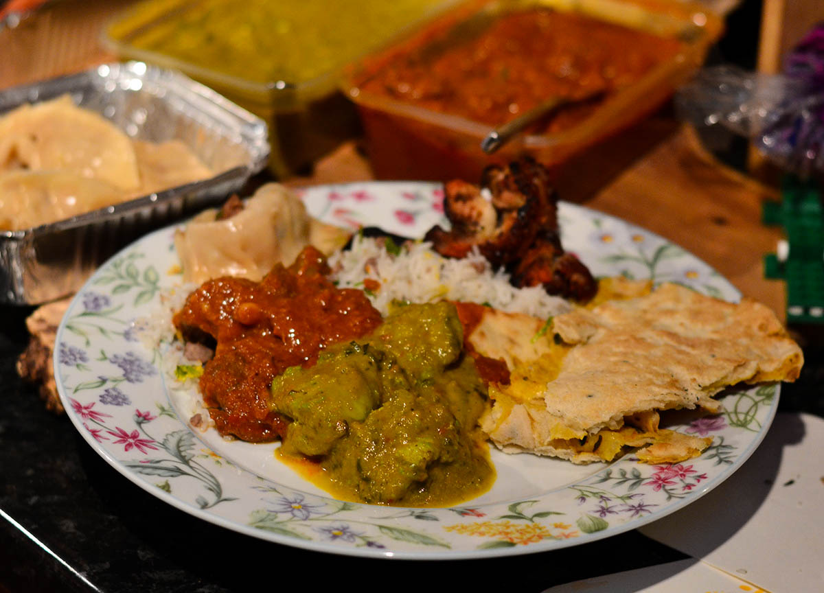 Spicy Feast from Yaks Nepalese Food in Bangor Northern Ireland