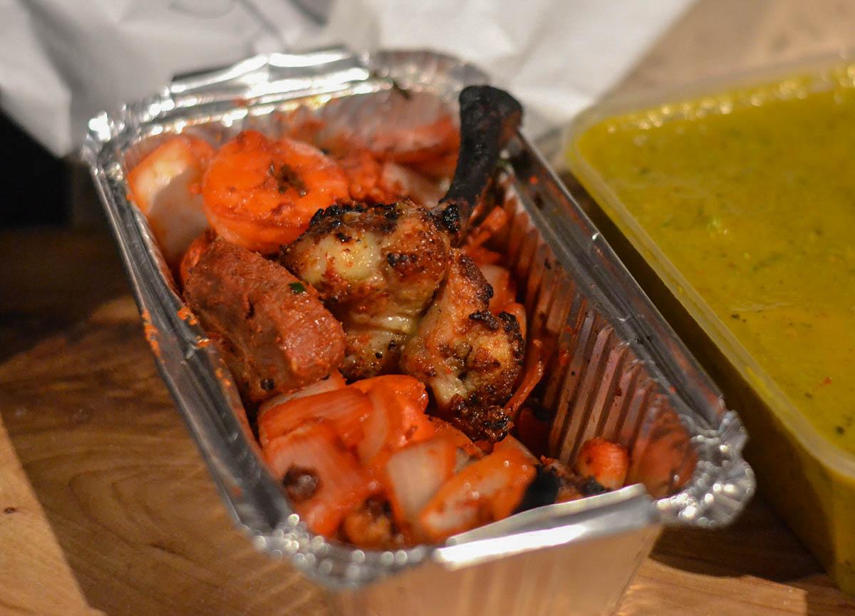 Yaks Meat Platter Appetizer from Yaks Nepalese Food in Bangor Northern Ireland