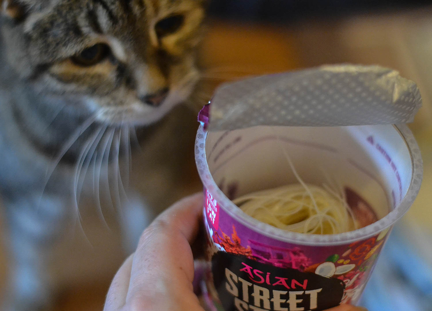 Thai Red Curry Pot Noodle Street Style. Best Instant Ramen in Britain UK