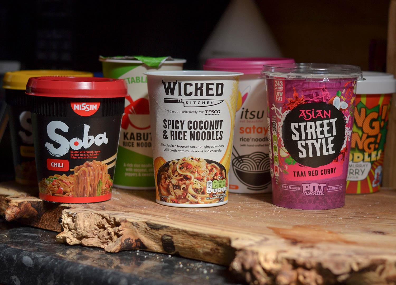 Best Instant Noodles in Supermarkets of UK Britain