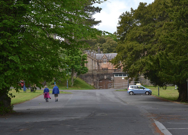 Castle Park Car Park in Bangor Town Centre in North Down Co Down Northern Ireland. Treasure Hunt NI