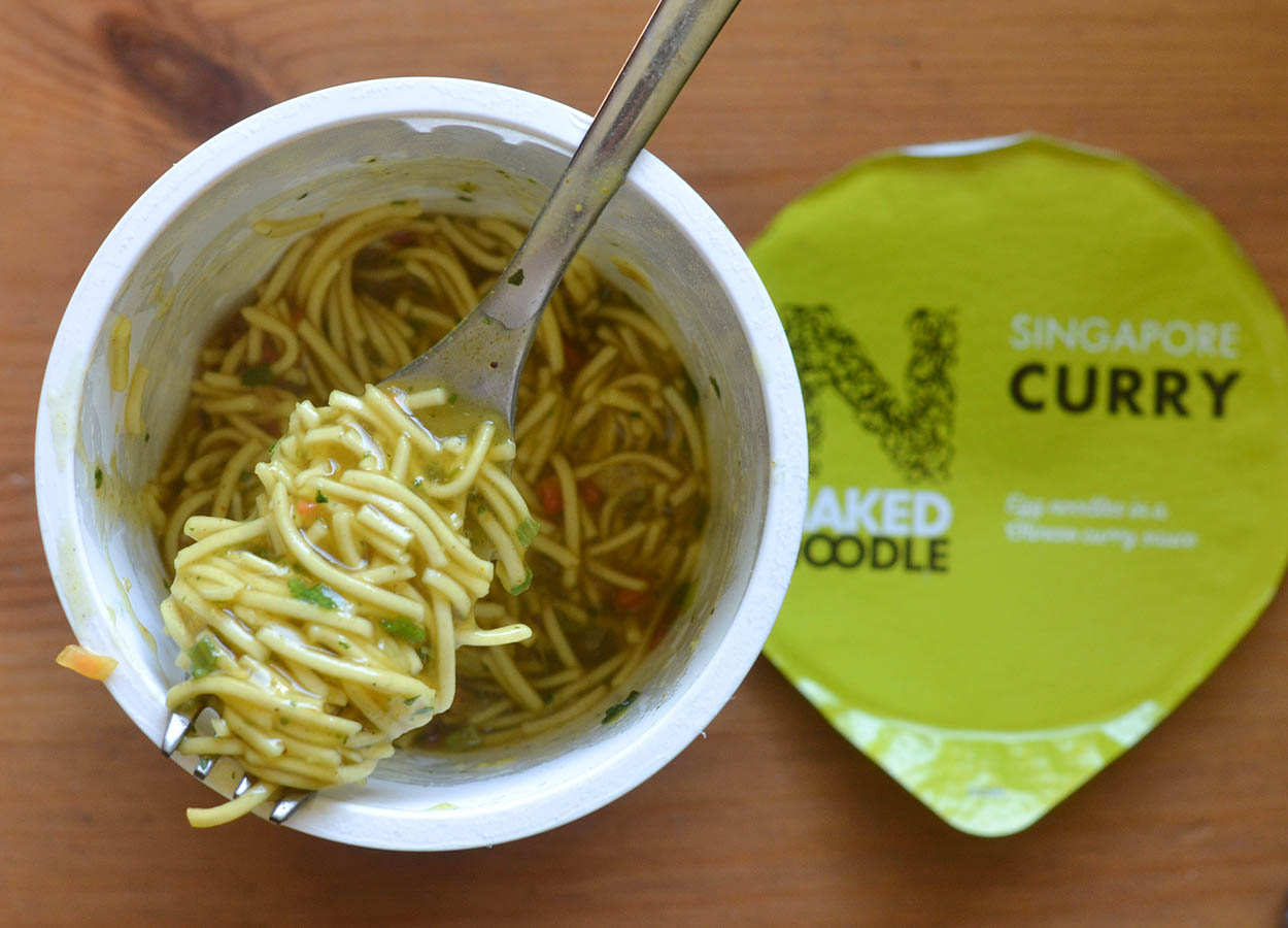 Naked Noodle Singapore Curry Pot Noodles Tesco Supermarket
