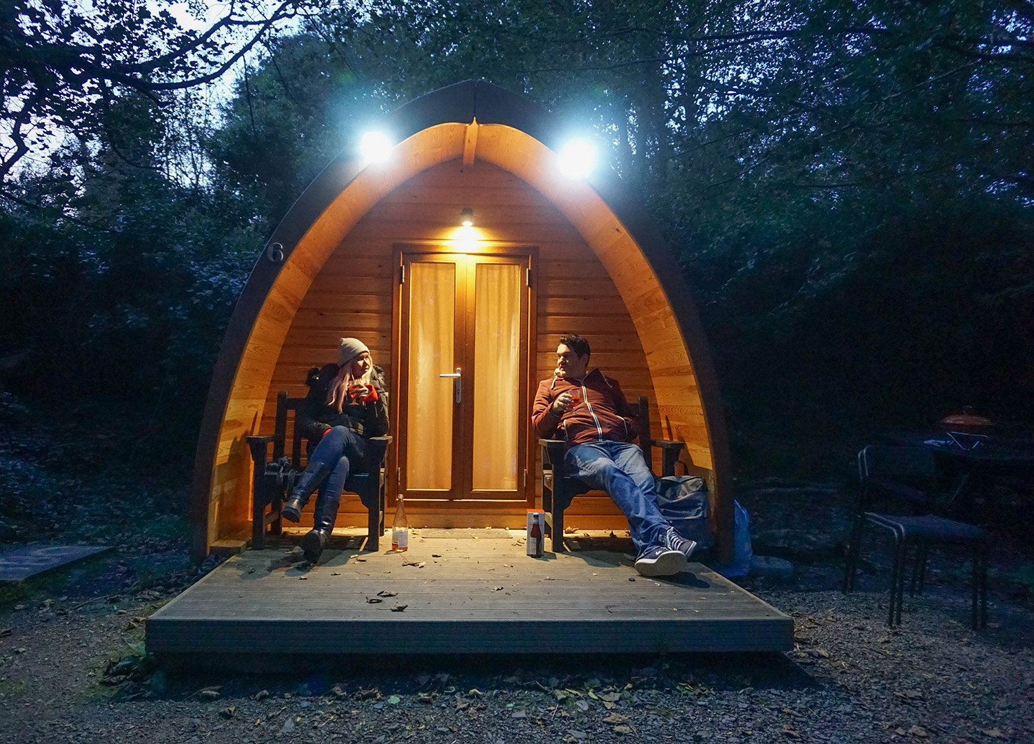 Best Glamping in Northern Ireland Castle Ward Glamping Pods Co Down