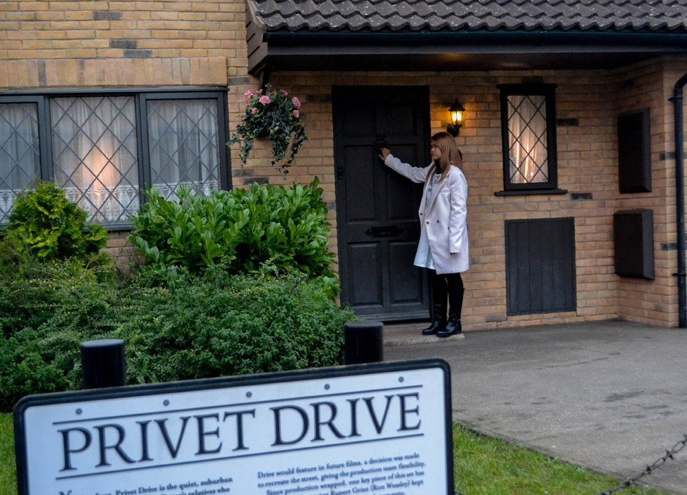 Privet Drive Front Door House at Harry Potter Studios London