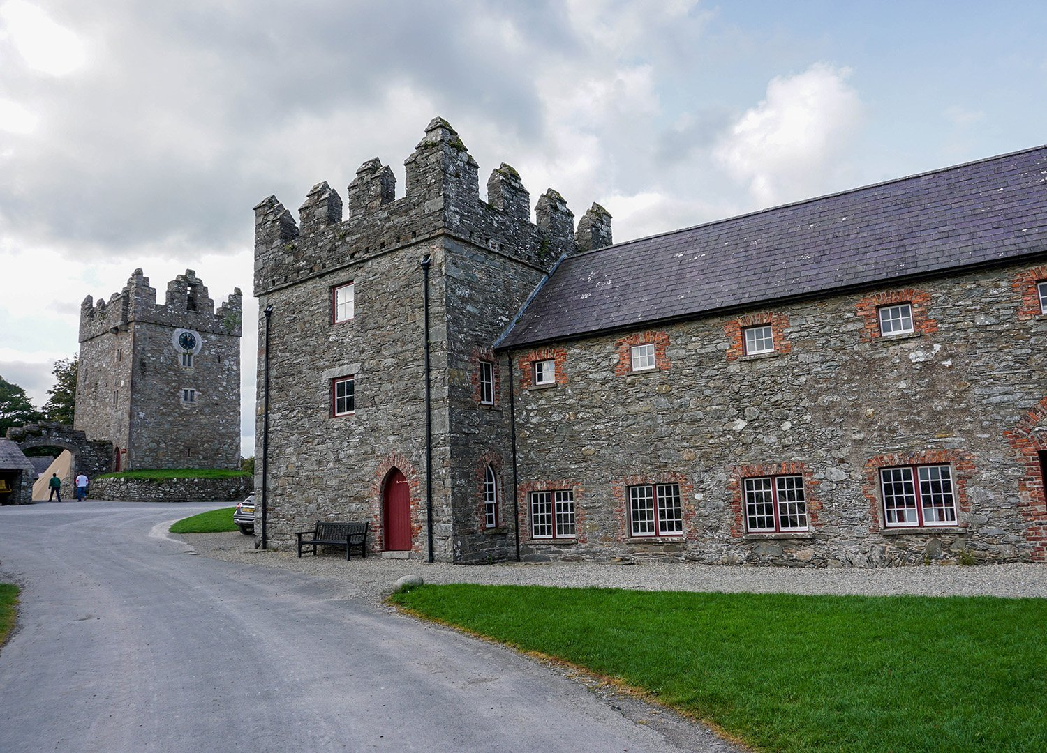 Winterfell Game of Thrones at Castle Ward Tourist Attractions Co Down