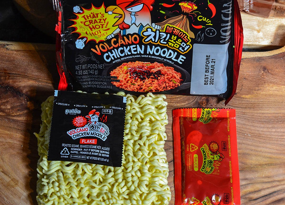 Pablo Korean Volcano Noodles Instant Ramen Noodles Hot Spiciest Instant Noodles Asian Supermarket (5)