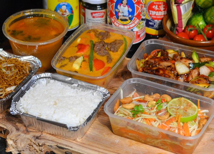 Tuk Tuk to Go Thai Food Delivery from Tuk Tuk Bangor Asian Bistro in Northern Ireland