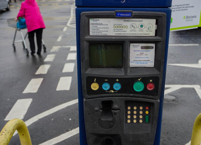 Pay Parking at Asda Car Park in Bangor Northern Ireland (1)