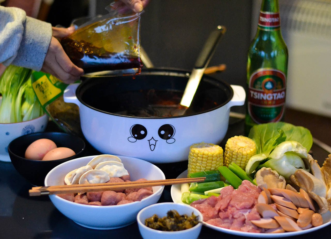 Haidilao Spicy Chinese Szechuan Soup Base for Homemade Hot Pot UK