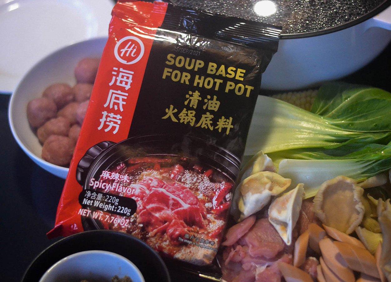 Hai Di Lao Hot Pot Soup Base for Spicy Chinese Szechuan Soup