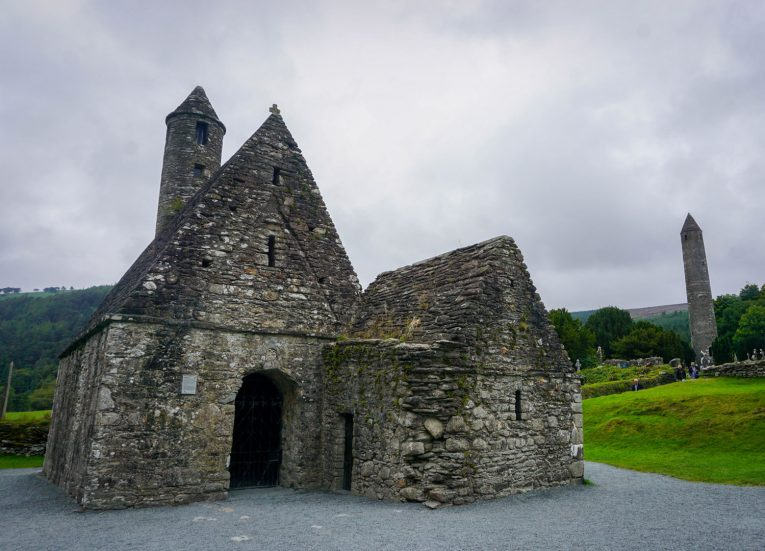 Saint Kevins Church at Glendalough Wicklow Top Tourist Attractions Ancient East Ireland