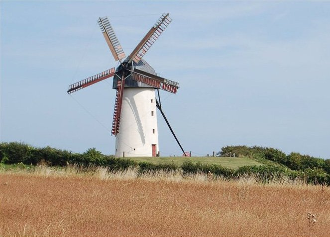 Skerries Windmill Tourist Attraction Dublin area Ancient East