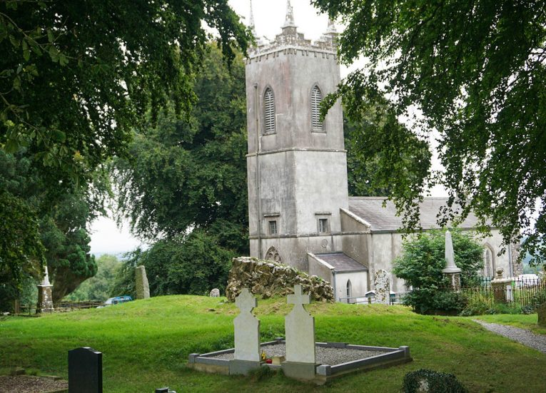 St Patrick's Church at Hill of Tata in Co Meath Ireland