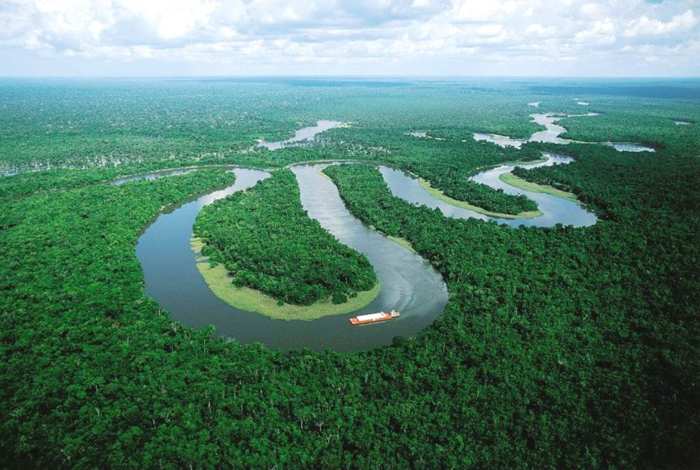 The ever twisting tale of the Amazon River