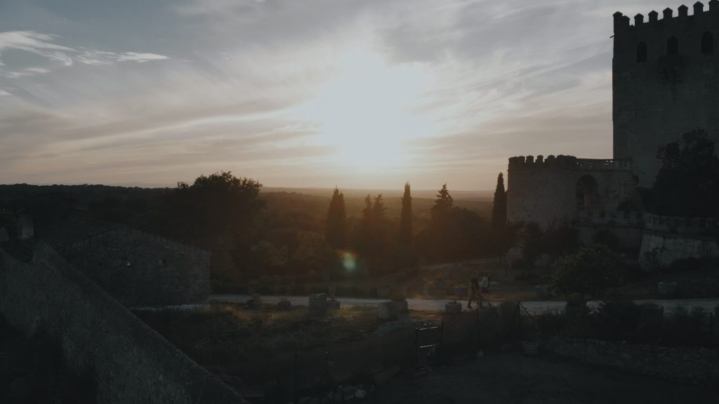 Preboda en el Castillo de Piedrabuena