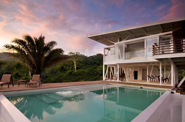 แบบบ้านสวย สีขาว ECO บ้านเย็น