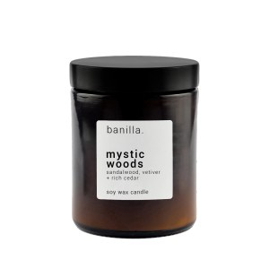mystic woods Amber candle
