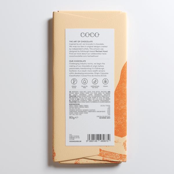 Coco Chocolatier Cold Brew Back Label