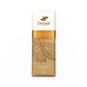 The New Chocolate Company salted caramel chocolate