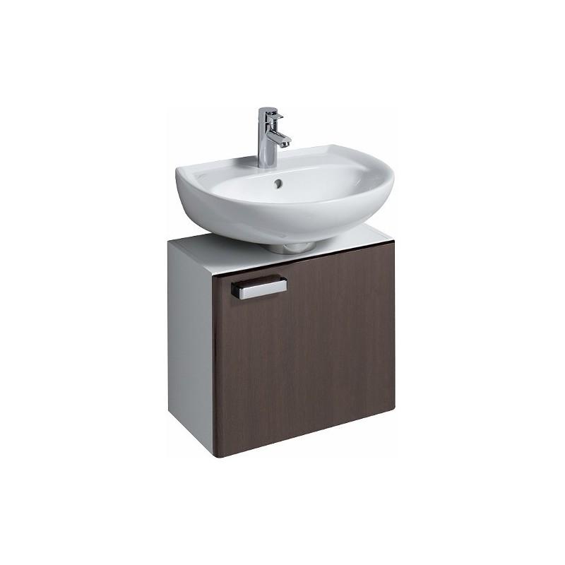 keramag meuble sous lave mains 530x455x310mm wenge