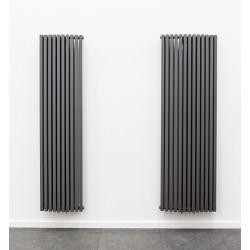 radiateurs decoratifs banio xander couleur antracite hauteur 180 cm largeur 45 cm