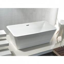 baignoire ilot chez banio salle de bain