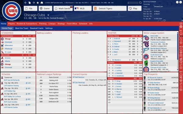 Cubs Team Page