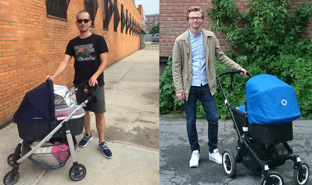 Росен (вляво) живее в Ню Йорк, а Айван (вдясно) живее в Осло