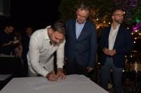 Potpisivanje sporazuma između Slovenačkog poslovnog kluba u Crnoj Gori i Udruženja francusko crnogorskih preduzeća