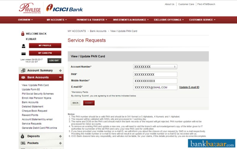 how to know bank details from check