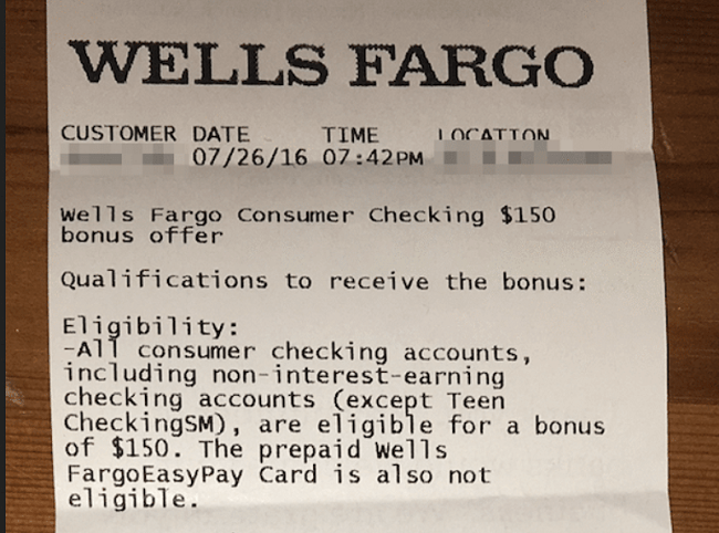Coupons wells fargo