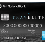First National Bank TravElite American Express Card Review: 25,000 Bonus Points + 100 Travel Credit