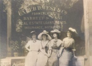 About Us, Caleb West Insurance Agency Historical Photo, original insurance office Newport News, VA
