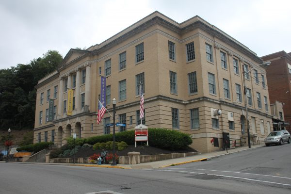 Old Bluefield, WV municipal building, just around the corner from our insurance agency office.