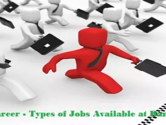 Types of Banking Jobs