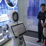 Facial scanning software at Chinese automated branch