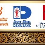 Marriage Invitation of 'Bank of Baroda' with 'Vijaya Bank' and 'Dena Bank'
