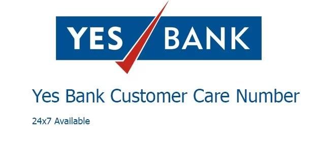 Yes bank customer care