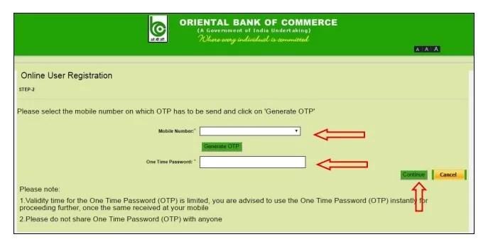 oriental bank of commerce login