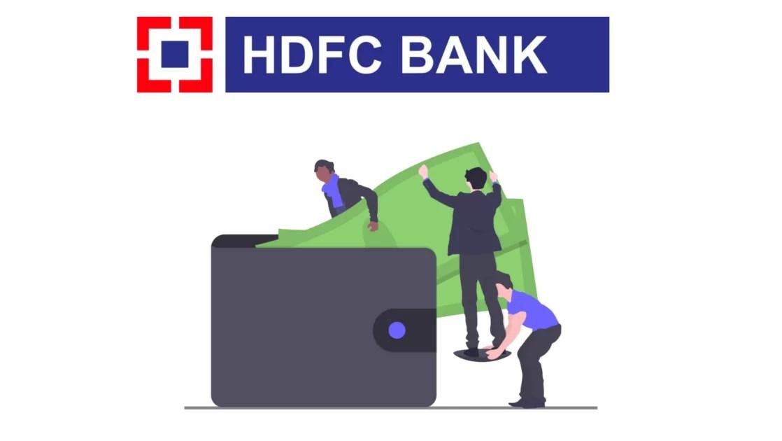 zero balance saving account in HDFC